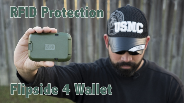 flipside wallet 4 RFID security protection